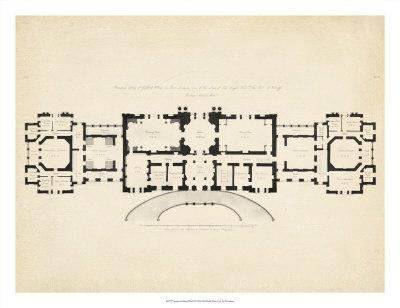 Antique Building Plan III