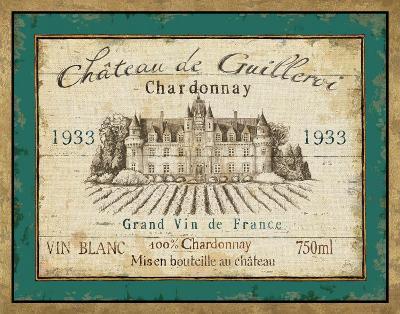 French Wine Label IV