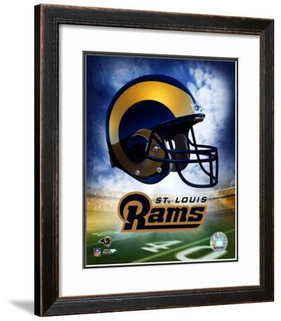 St. Louis Rams Helmet Logo ©Photofile