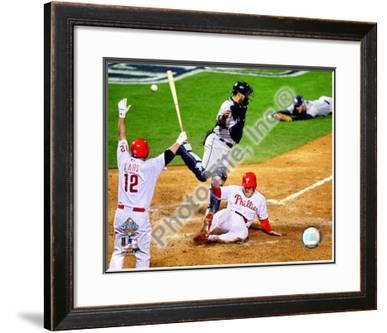 Eric Bruntlett Game 3 of the 2008 MLB World Series
