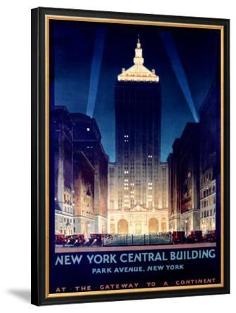 New York, Central Building, 1930