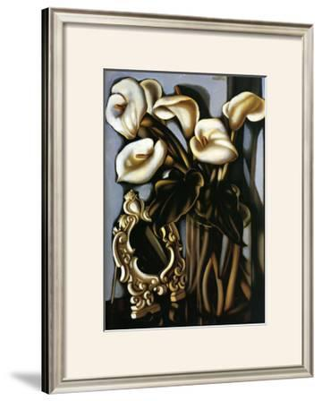 Still Life with Arum Lilies and Mirror, c.1935