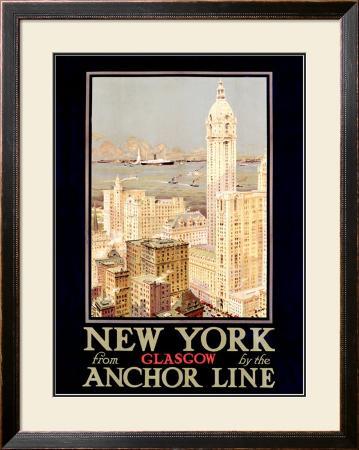 New York, Anchor Line