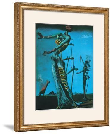 Giraffe on Fire, 1937