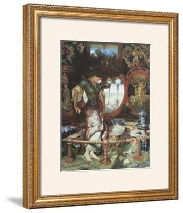 The Lady of Shalott. c.1889-92