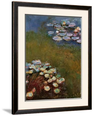 Water Lilies, Harmony in Blue