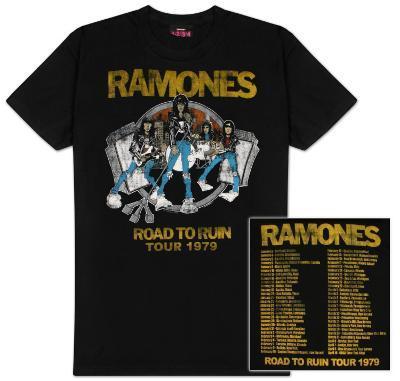 The Ramones - Road to Ruin Tour