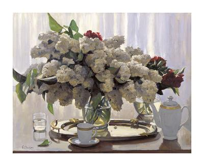 Lilacs with Summer Light