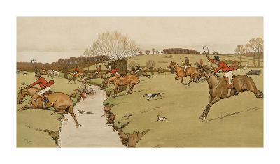 The Cottesbrook Hunt (The Brook)