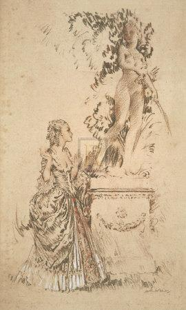 Madame du Barry and the Statue of Venus