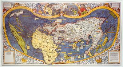 Universalis Cosmographia Secundum Ptholomei Triditionem... [1507]