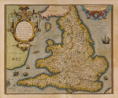 Angliae Regni Florentissimi Nova Descriptio, 1573