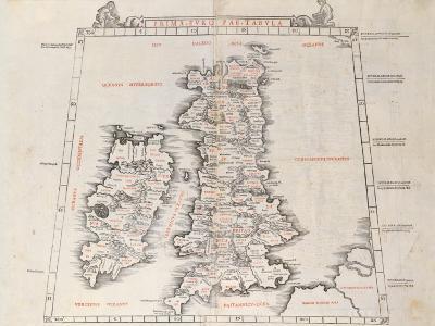 Prima Europae Tabula, 1511