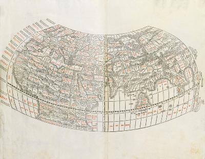 World Map, 1511