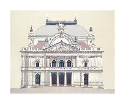 Janacek Opera House Brno