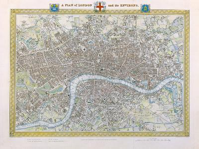 A Plan of London and its Environs, 1831
