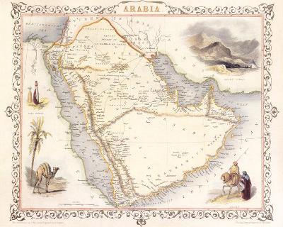 Arabia, 1851