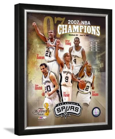 2007 Spurs NBA Champions Composite
