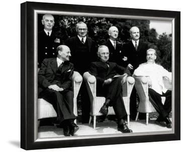 """The new """"Big Three"""" at the Potsdam Conference, 1945"""