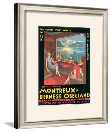 Montreux - Bernese Oberland Railway, Switzerland, c.1925