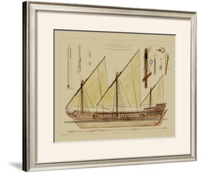 Antique Ship Plan VI