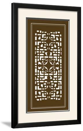 Shoji Screen in Brown IV