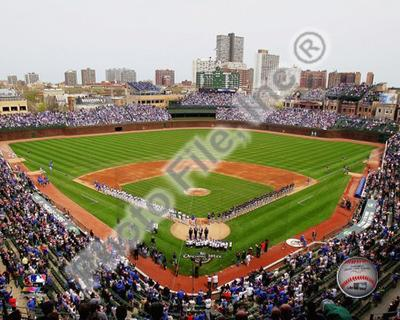 Wrigley Field 2010 Opening Day