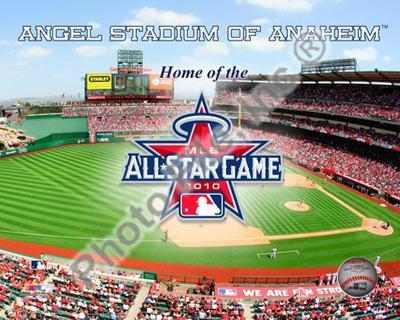 Angel Stadium with 2010 MLB All-Star Game