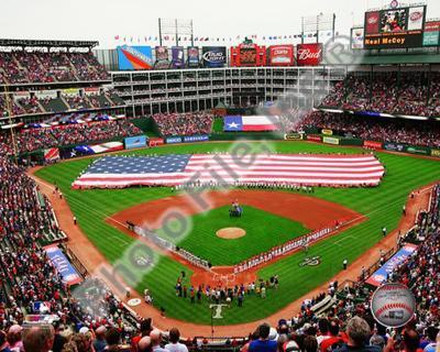 Rangers Ballpark 2010 Opening Day