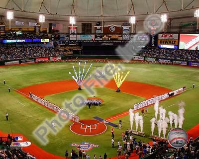 Tropicana Field 2010 Opening Day