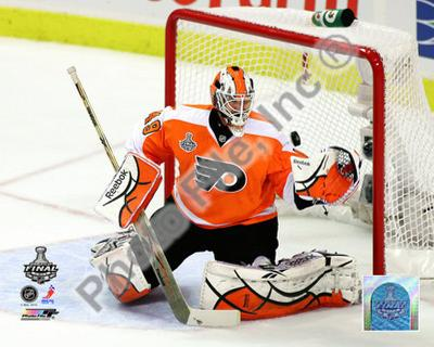 Michael Leighton 2009-10 NHL Stanley Cup Finals Game 3