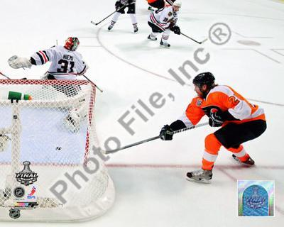 Claude Giroux Game Four of the 2010 NHL Stanley Cup Finals Goal