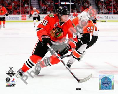 Patrick Kane Game One of the 2010 NHL Stanley Cup Finals