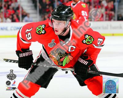 Jonathan Toews Game One of the 2010 NHL Stanley Cup Finals