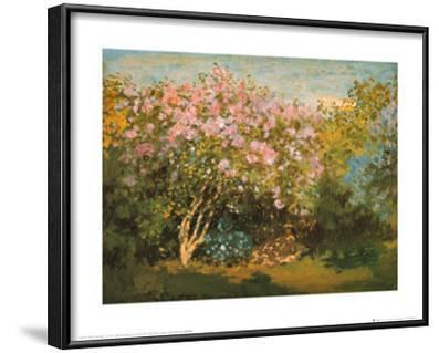 Blossoming Lilac in the Sun, c.1873