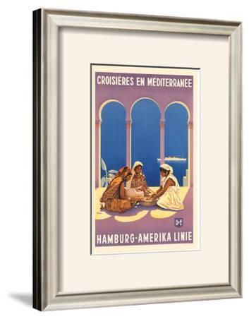Hamburg Amerika Linie, Croisieres en Mediterranee