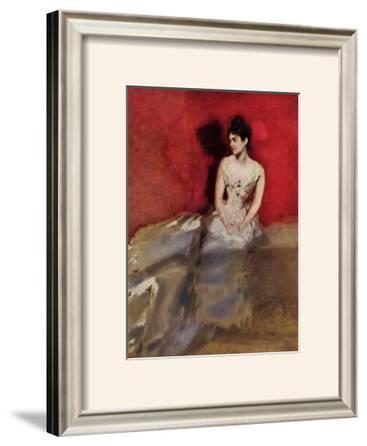 Portrat der Frau des Kunstlers