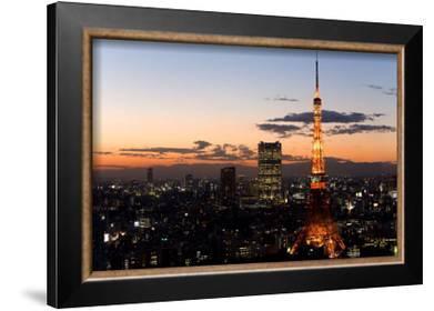 Tokyo Tower: Evening II