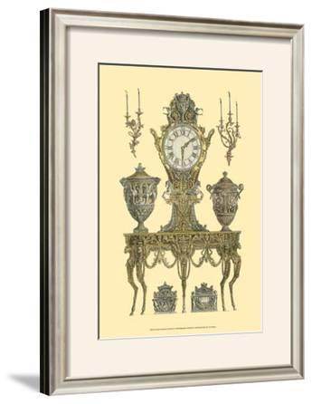 Antique Decorative Clock II