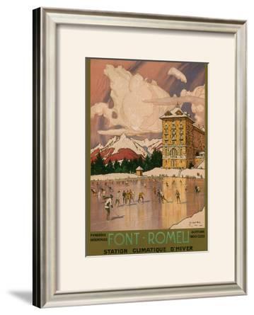 Chemin de Fer du Midi, Font-Romeu, c.1920's