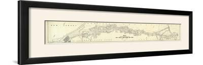 Map Exhibiting The Lines for the New York and New Haven Railroad, c.1845