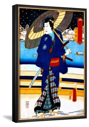 Kabuki Stroll on Japanese Bridge