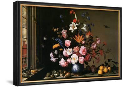 Vase de Fleurs a Cote d'Une Fenetre