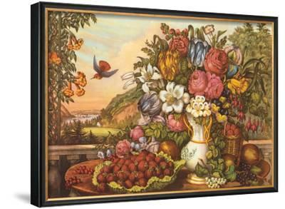 Landscape, Fruit and Flowers