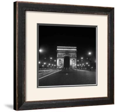 Paris, Champs-Elysees, Arc de Triumph, 1960's