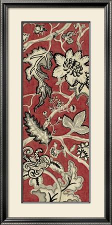Crimson Embroidery I