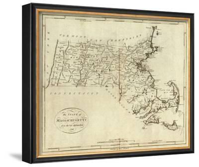 State of Massachusetts, c.1796