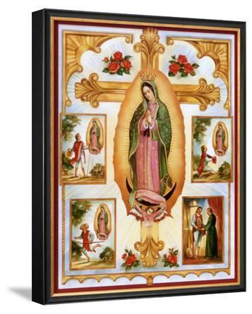 Lady of Guadalupe Montage