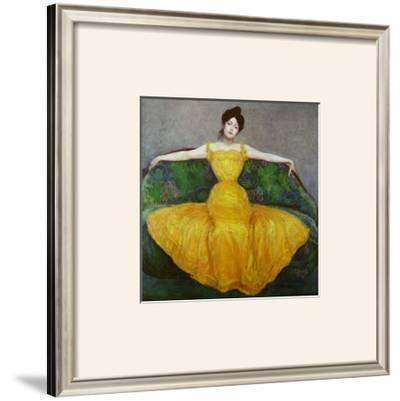 Lady in Yellow, c.1899