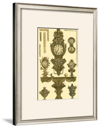 Antique Decorative Clock I